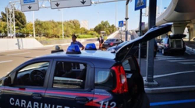 controlli aeroporto Fiumicino 07-06-19