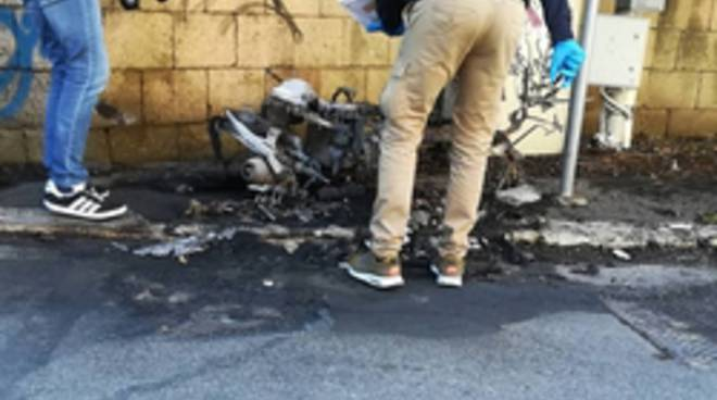 motorino Ciaccheri bruciato