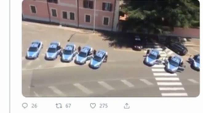 gesto polizia