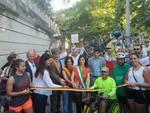 inaugurazione ciclabile Nomentana