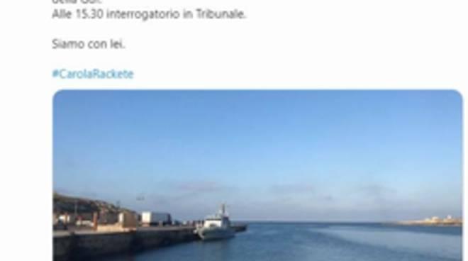 Sea Watch, Carola Rackete lascia Lampedusa: la Procura chiede la convalida dell'arresto