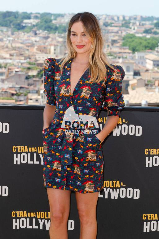 C'era una volta Hollywood, presentazione a Roma