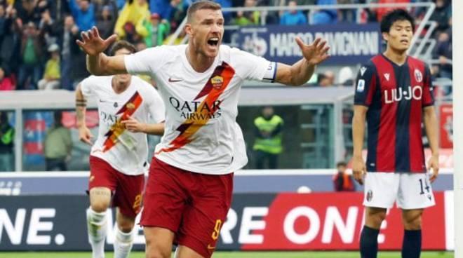 Tifosi del Bologna e della Lazio in pellegrinaggio da Sinisa
