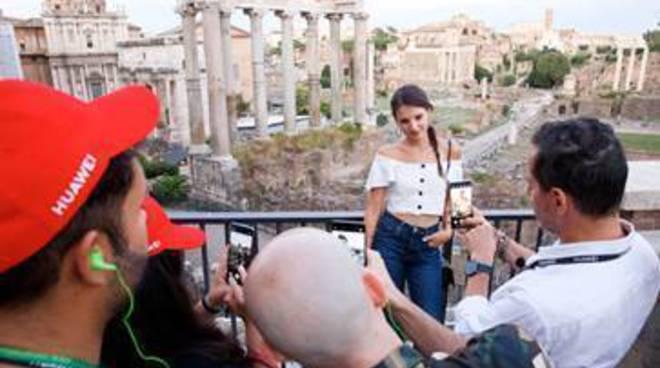 C'era una volta Hollywood, presentazione a Roma