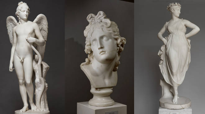 """Risultato immagini per (mostra Canova. Eterna Bellezza a Roma dal 9 ottobre al 15 marzo)"""""""