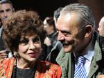 Gina Lollobrigida e Rino Barillari