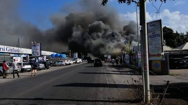 incendio tor san lorenzo