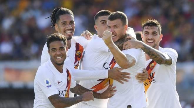 Lecce Roma 0-1
