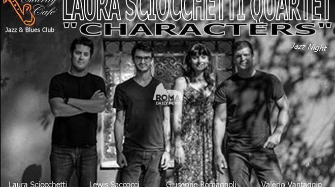 """Laura Sciocchetti Quartet \""""Characters\"""" in concerto al Charity Café"""
