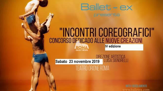 Incontri coreografici, concorso di danza dedicato alle nuove creazioni coreografiche