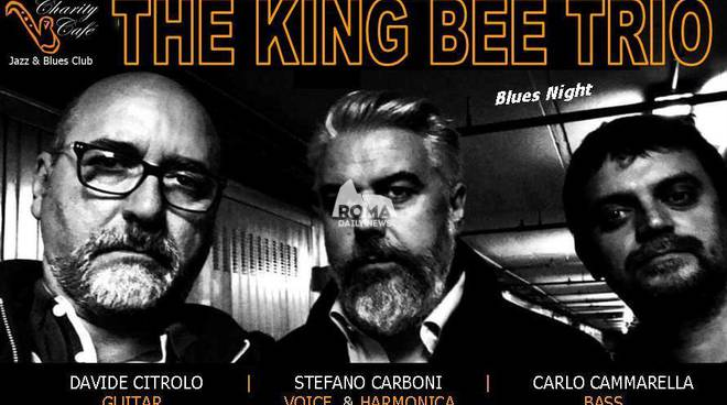 The King Bee Trio in concerto al Charity Café