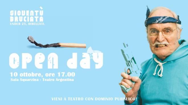 Open day Dominio Pubblico - Teatro Argentina