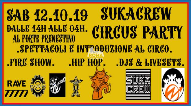 SukaCrew Circus Party
