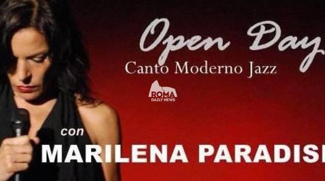 Open Day con la cantante Marilena Paradisi