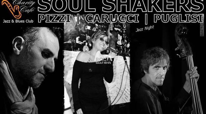 Soul Shakers: Pizzi, Carucci, Puglisi in concerto al Charity Café