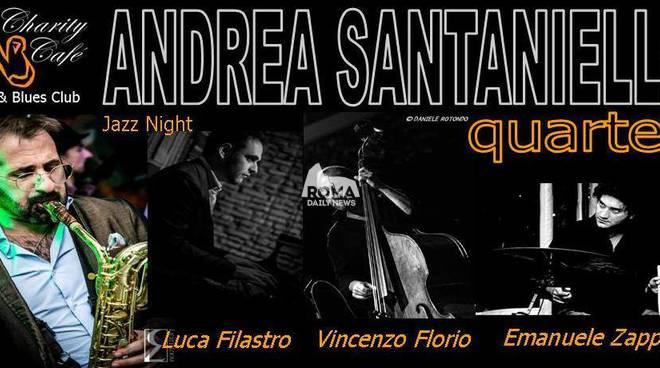 Andrea Santaniello Jazz Quartet in concerto presso il Charity Café