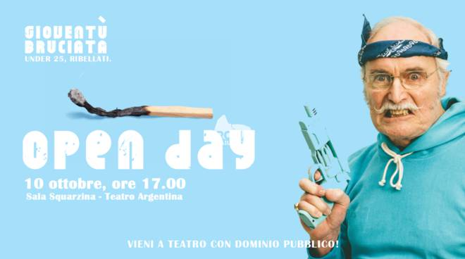 Dominio Pubblico Open day Teatro Argetina