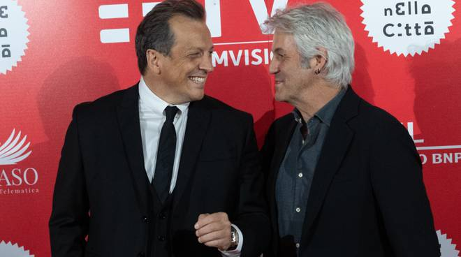 Gabriele Muccino e Domenico Procacci