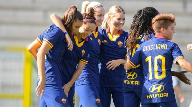 Roma-Empoli 4-0