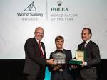 World Sailing Award classe Optimist di vela