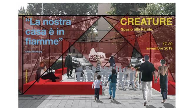 Creature 2019-Esperimenti d'arte in laboratori urbani