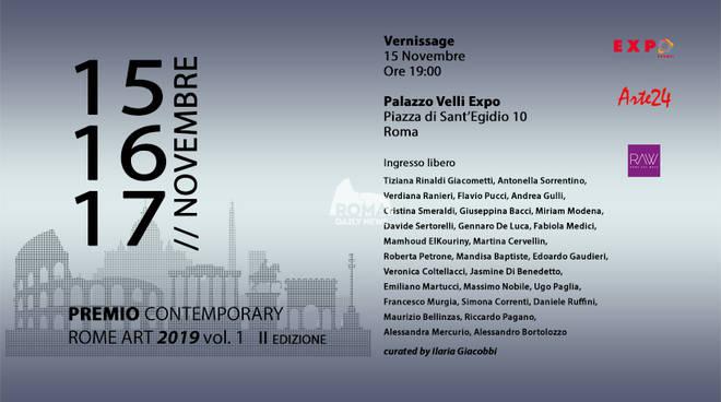 Premio Contemporary Rome Art Vol1 II Edizione