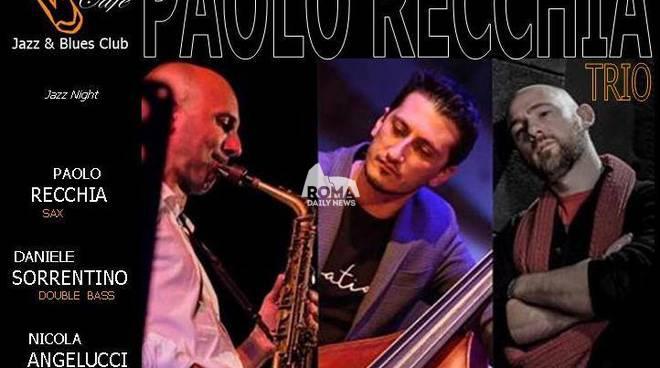 Paolo Recchia Trio in concerto al Charity Café