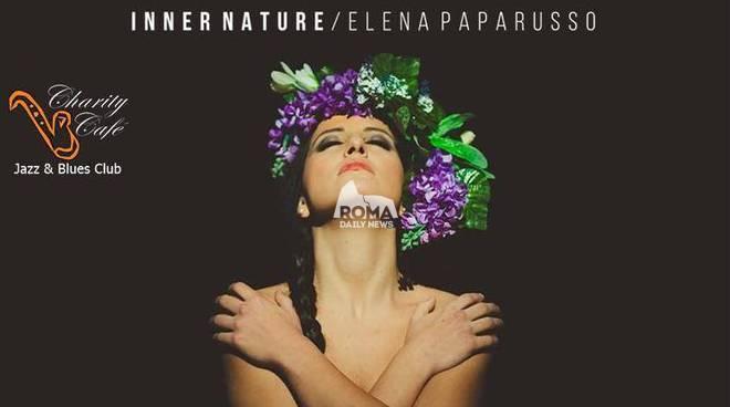 Elena Paparusso presenta il disco Inner Nature al Charity Café