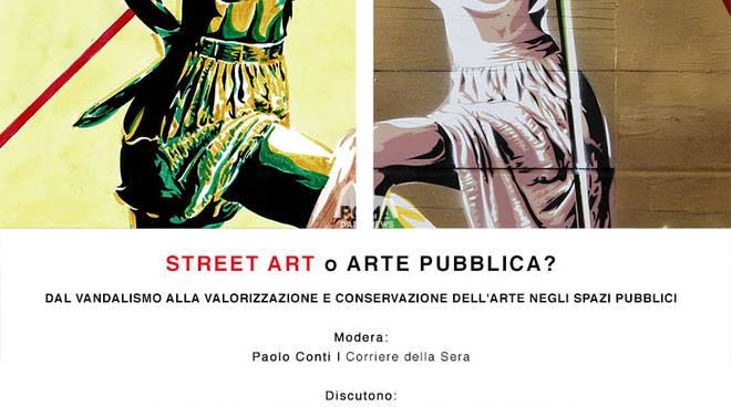 Street art o arte pubblica? Dal vandalismo alla valorizzazione e conservazione dell\'arte negli spazi pubblici