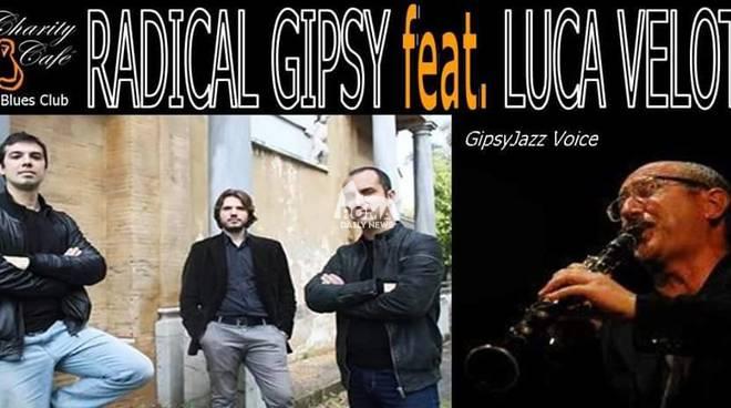 Al Charity Café di scena Radical Gipsy feat. Luca Velotti