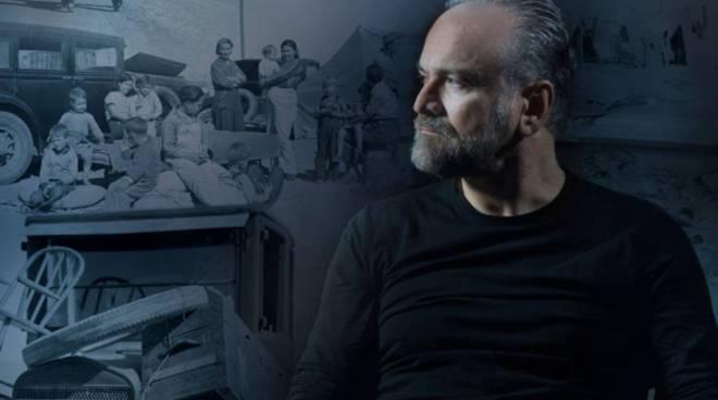Massimo Popolizio -foto di scena - prova FURORE -