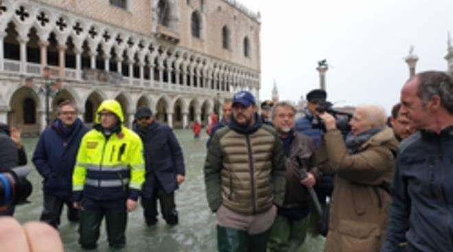 Matteo Salvini a Venezia 15-11-19