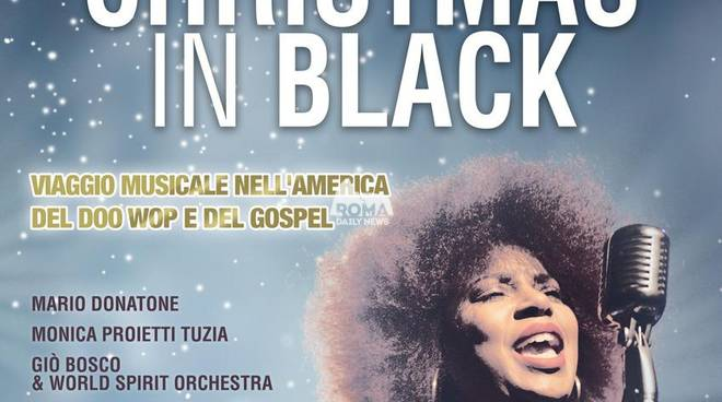 Christmas in Black al teatro Golden: un viaggio nell\'America del Doo Wop e del Gospel