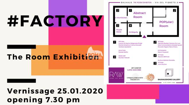 #Factory. La mostra POP di Bauhaus Home Gallery