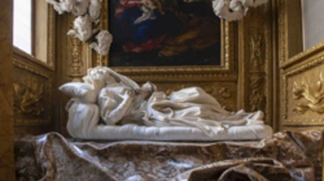 Santa Ludovica nella Cappella Albertoni
