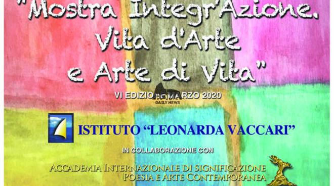 Mostra Integr'Azione: Vita d'Arte e Arte di Vita. L'arte itinerante che celebra la differenza.