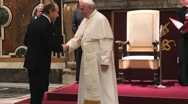 gvm care & research da papa francesco