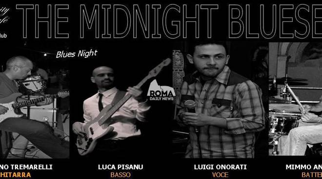 The Midnight Bluesers in concerto al Charity Cafè