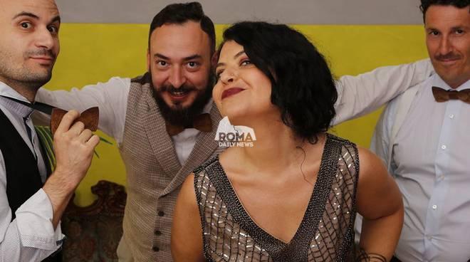 Ipiniswing serata dedicata ai balli swing presso Pinispettinati: sul palco Pepper And The Jellies
