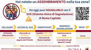 sito online assembramenti
