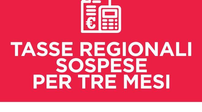 tasse sospese regione lazio