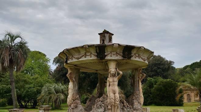 fontana di cupido villa pamphilj
