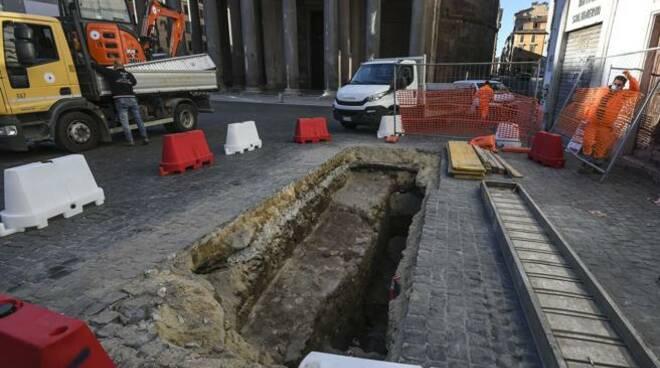 scavo pantheon