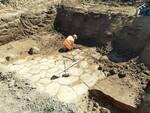 struttura muraria tiburtina. archeologia