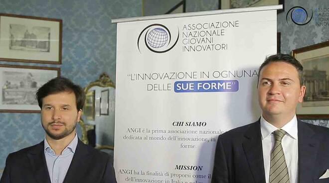 Emanuel Bonanni (Segretario Generale Assopostale) e Alessandro Del Frate (Project Leader Sailpost)