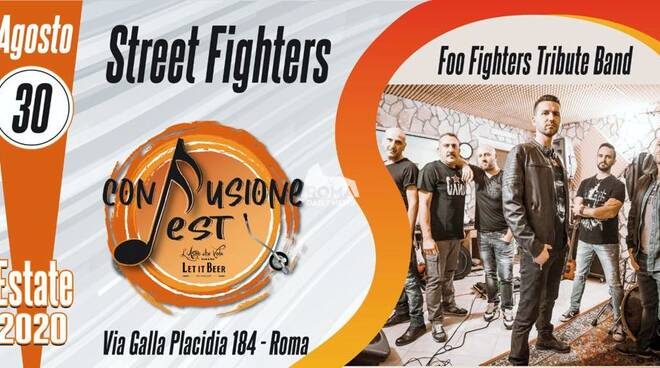 Street Fighters (Foo Fighters Tribute) in concerto al Confusione Fest