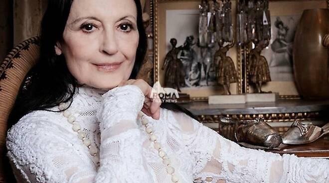 Carla Fracci cittadina onoraria di Nepi in occasione del suo compleanno