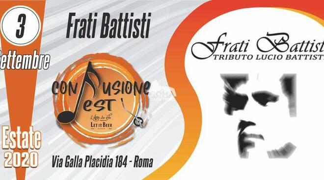 Frati Battisti in concerto al Confusione Fest