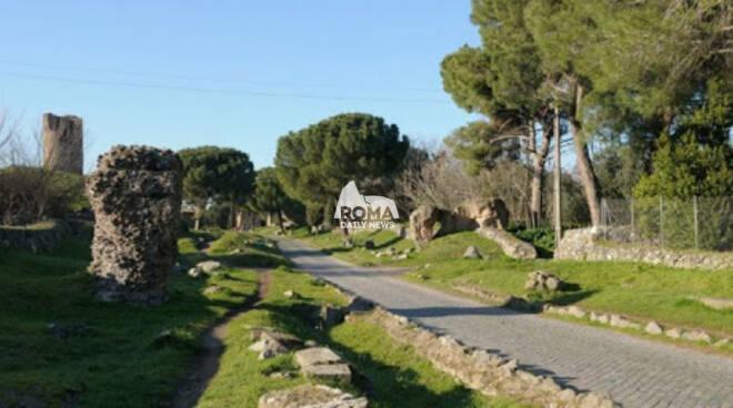 La via Appia Antica (tra V e VI miglio)