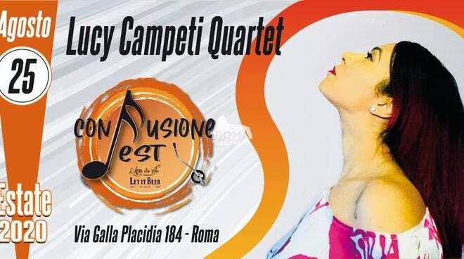 """Lucy Campeti Quartet in concerto al Confusione Fest: Open \""""A Parte Duo\"""""""